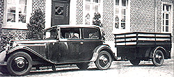 Alter Viehtransporter 1931